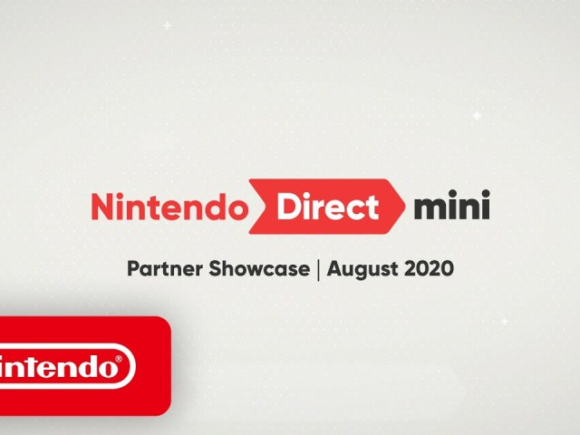 Nintendo Direct Mini: Partner Showcase – August 2020