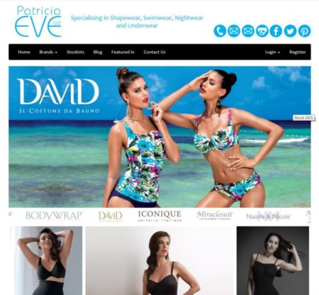 New look for Patricia Eve website