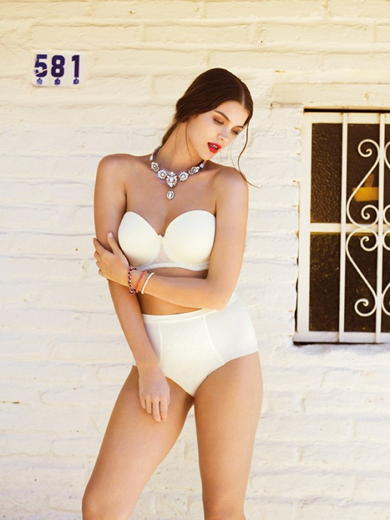 DECO-DARLING-IVORY-UNDERWIRED-MOULDED-STRAPLESS-BRA-1773-HIGH-WAIST-SMOOTHING-BRIEF-1778-CONSUMER