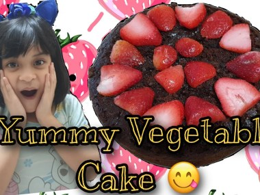 No bake Healthy Vegetable Cake by Chef Sofie
