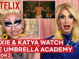 Trixie Mattel and Katya watching 'The Umbrella Academy' Season 2 is the best thing you'll see today