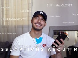 Tony Labrusca reveals that he used to have nudes on his phone