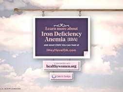 Heavy Uterine Bleeding and Iron Deficiency Anemia Through the Years