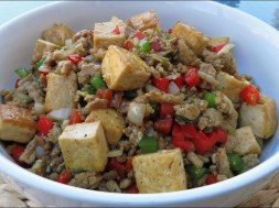 Chicken and Tofu Stir Fry