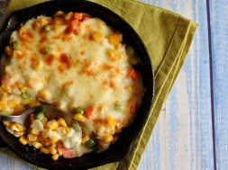 WATCH: How To Make A Super Cheesy Corn And Mixed Vegetables Banchan