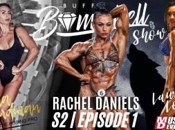 Buff Bombshell Show Special Guest: Rachel Daniels