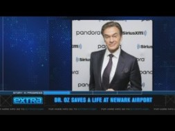 Dr. Oz Saves Stranger's Life at Airport Using CPR, Pro Wrestling Move