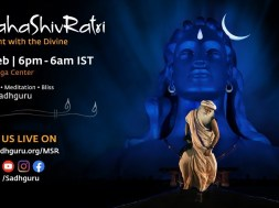 Party with Sadhguru on the Night of Mahashivratri