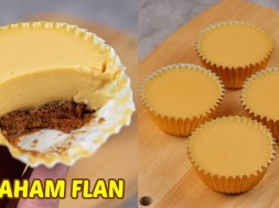 These Graham Flan Cupcakes Don't Require An Oven Or A Steamer