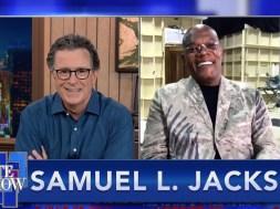 Samuel L. Jackson reveals his top 5 Samuel L. Jackson movies to Stephen Colbert