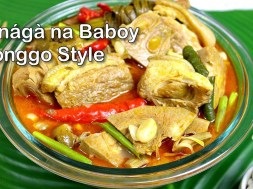 Nilagang Baboy with Langka Ilonggo Style