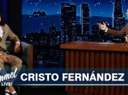 """Ted Lasso star Cristo Fernandez stopped by Jimmy Kimmel Live"" links"