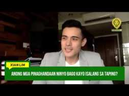 A new Kapuso! GMA Network welcomes Xian Lim