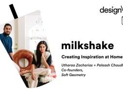 DMTV Milkshake: soft-geometry on Bringing Minimalism + Hand-Craft Together