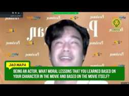 Jao Mapa says something to men who are 'losing' their way