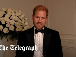 Prince Harry made a surprise appearance at the GQ Men of the Year Awards