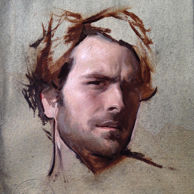 Self Portrait Underpaintings Magazine
