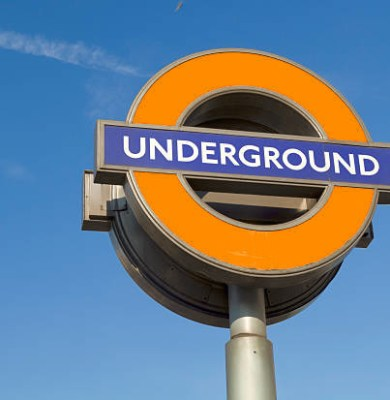 """""""London, UK - August 1, 2011: Image of traditional London Underground Sign."""""""