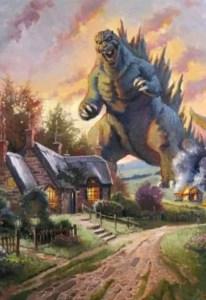 Godzilla vs. Thomas Kinkaide