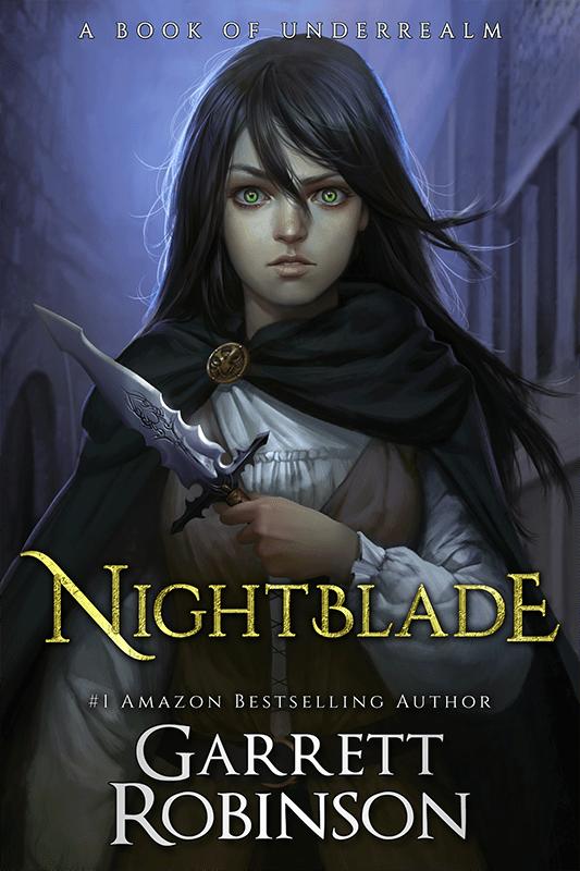 #1 Fantasy Bestseller Nightblade, by Garrett Robinson