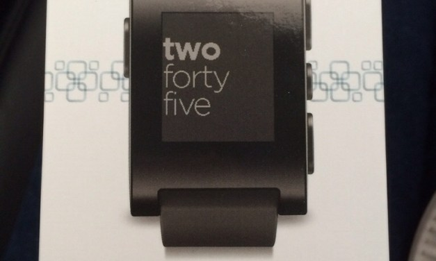 Pebble Smart Watch and a Couple of Apps: Quick Look