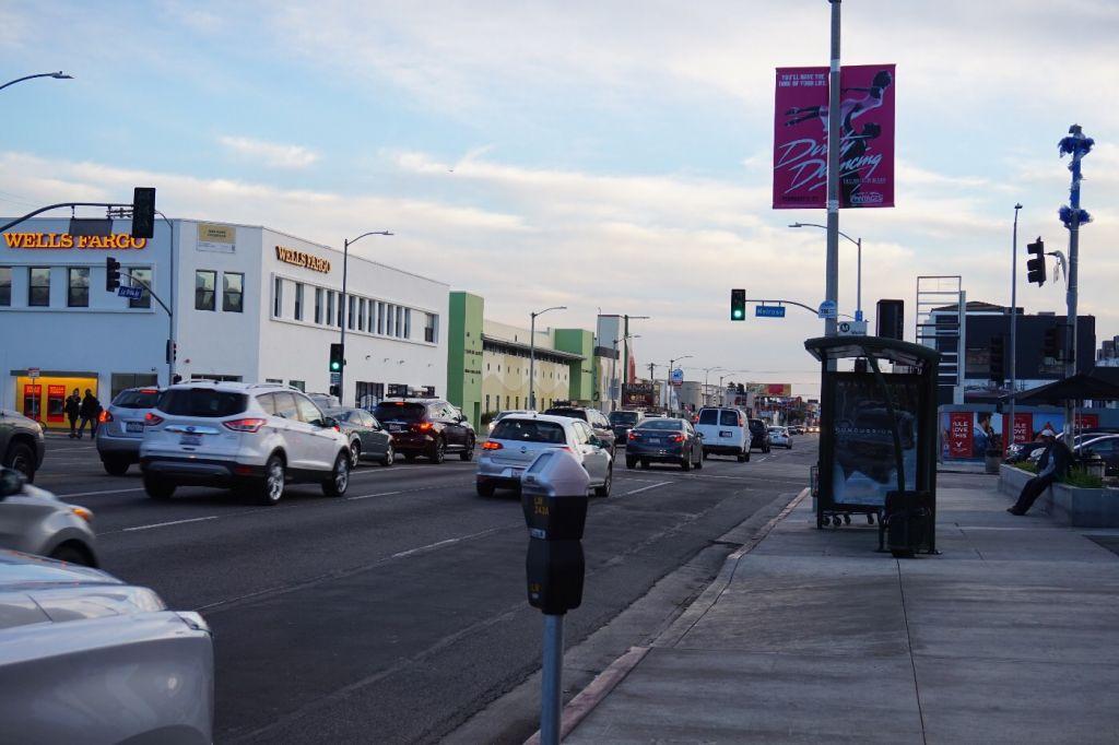 Street parking in LA