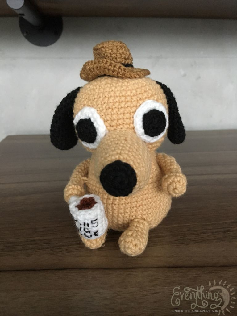 This Is Fine Dog Stuffed Animal, This Is Fine Amigurumeme Everything Under The Singapore Sun