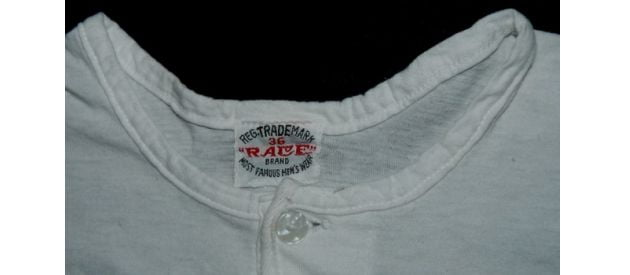 db18726b Authentic Vintage Race Brand Henley? | UndershirtGuy