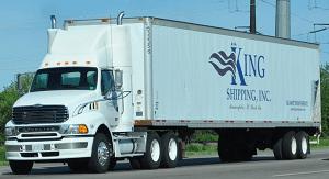 King Shipping Truck