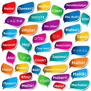 Translating Hello