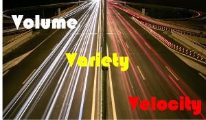Volume Velocity and Variety