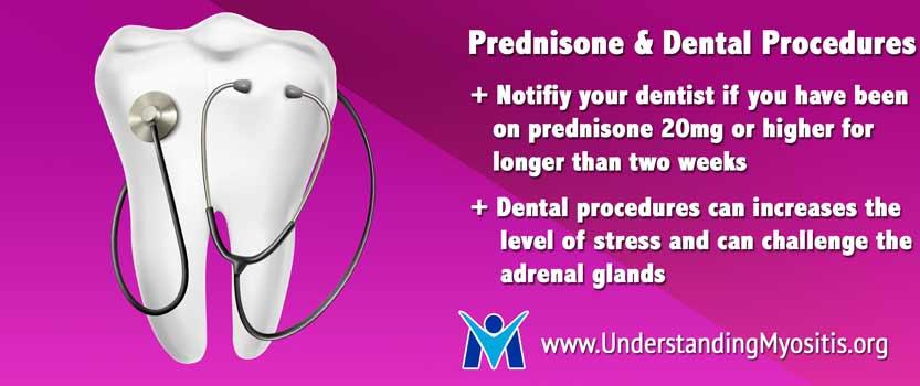 Dental procedures and prednisone