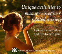 Unique activities to manage caregiver anxiety