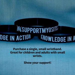 Myositis Wristbands, purchase single bands