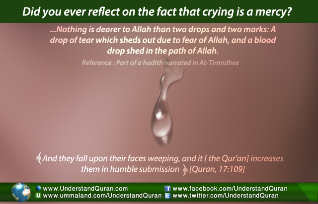 The Mercy of the Gift of Tears | Understand Al-Qur'an Academy