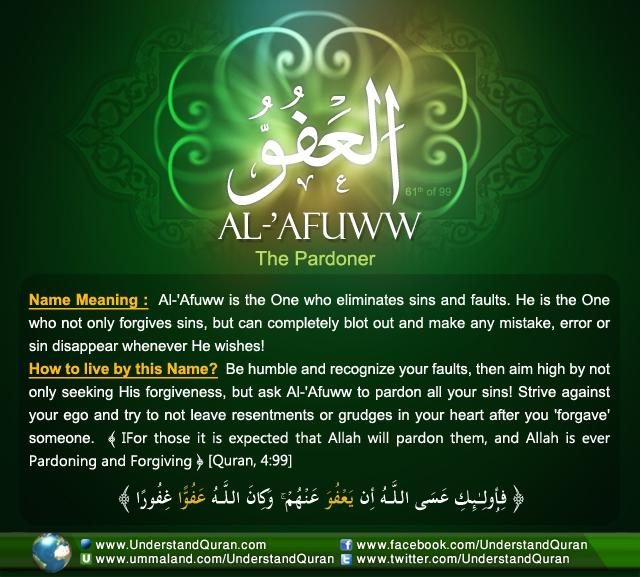 Name_61_ Al-Afuww