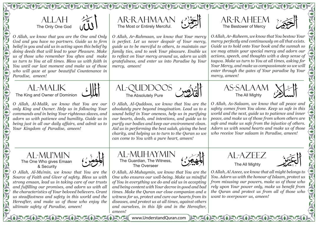 understand-quran-99-Names-calendar