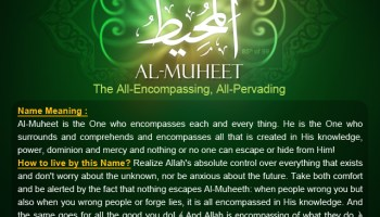 And the Answer is       Al-Muqeet! - Understand Al-Qur'an