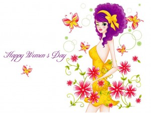 International Women's Day - all women are princesses