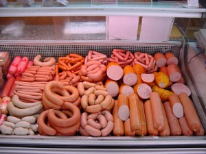 sausage counter