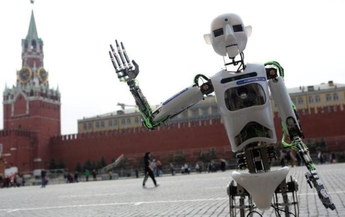 Robots in Moscow