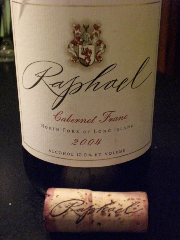 Raphael 2004 Cabernet Franc