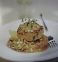Herbed Rissoles with Mushroom Sauce
