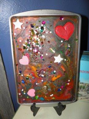 Melted Crayon Artwork: Motherhoodisanart