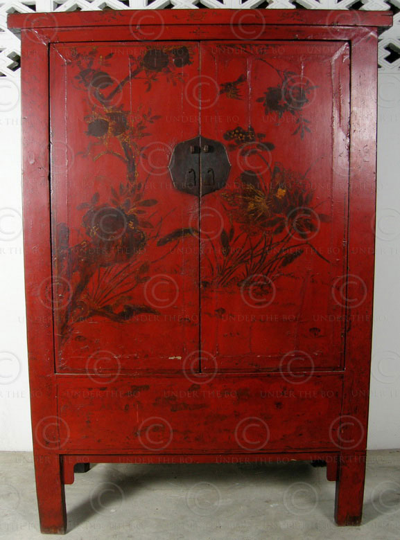 Armoire Chinoise Laque BJ41 Shanxi Chine