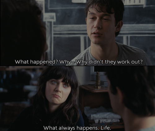 Everything I Learned, I Learned from the film [500] Days of Summer (5/6)