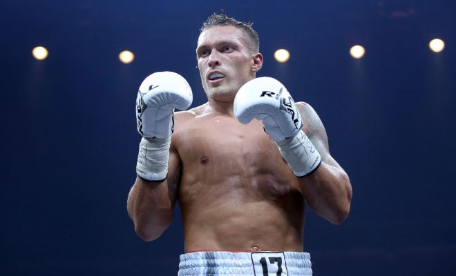 World Boxing Super Series Finalist Oleksandr Usyk