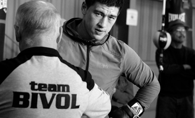 Dmitry Bivol Media Workout - February 20, 2018