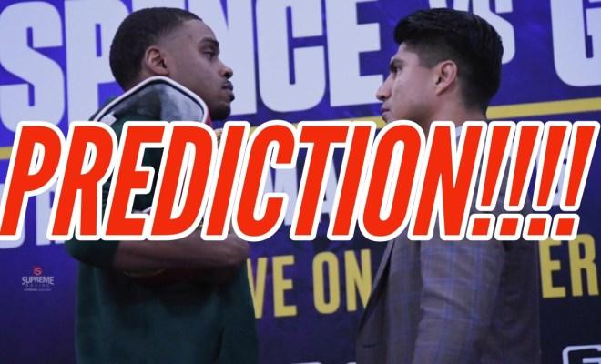 Spence Garcia Prediction