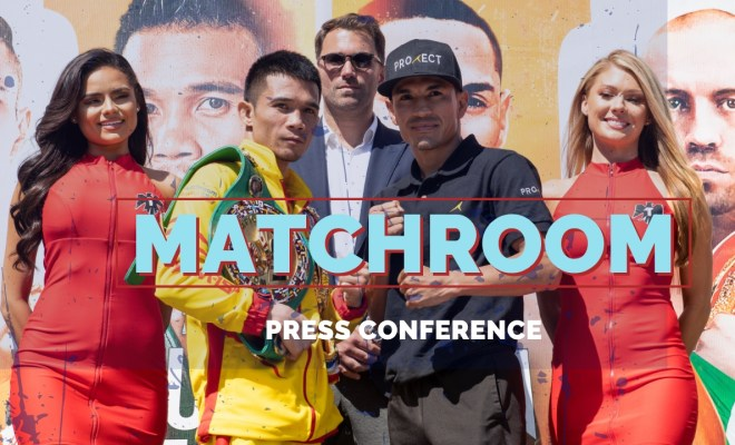 Matchroom Press Conference Thumbnail